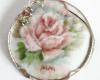Hand Painted Porcelain Pendant