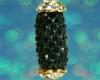 Swarovski Glitter Drop Pendant - Black