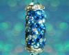 Swarovski Glitter Drop Pendant - Blue